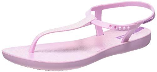 Ipanema Charm Sand II Kids, Sandalias con Tira de T para Niñas, Rosa Light Pink 9179, 33/34 EU