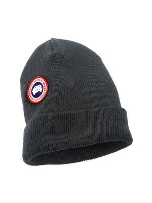 Canada Goose Herren Merino Wolle Watch Cap, Herren, graphit