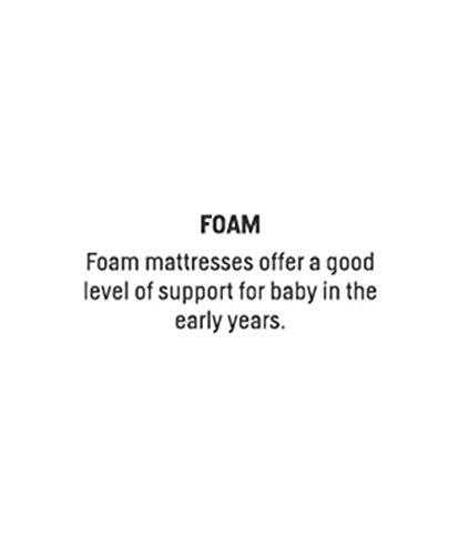 Mamas & Papas Foam Cot Mattress, Small