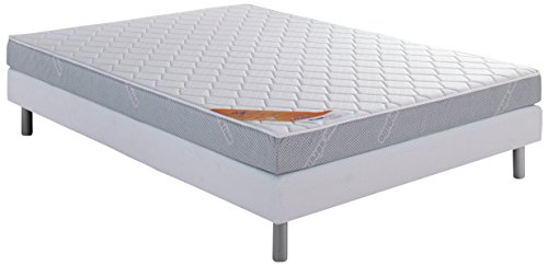 Dunlopillo DunloPrems Start Ensemble sommier + matelas mousse 28kg/m3 140x190