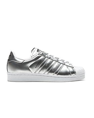 Adidas Sneaker SUPERSTAR W CG3681 Silber, Schuhgröße:40 2/3