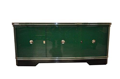 Art Deco Sideboard (OAM Wundervolles Art Deco Sideboard in Racing Green)