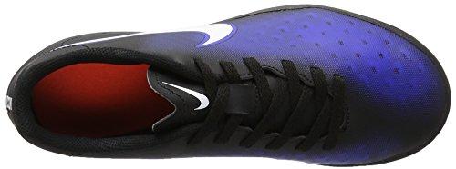 Nike 844416-016, Chaussures de Football en Salle Mixte Adulte Noir (Black/white-paramount Blue-hyper Orange)