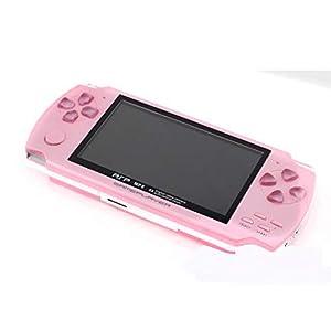 GAME Maple Mode Handheld-Spielkonsole, PSP Handheld-Spielkonsole 4,3-Zoll-MP50 Kinderspiel Lernmaschine, Unterstützung GBA  MD  NES-Format Spiel Download