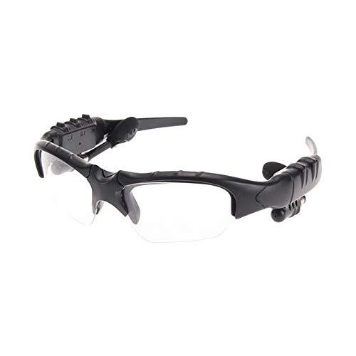 Yiph-Sunglass Sonnenbrillen Mode Bluetooth-Bewegung Bluetooth-Brille USB-Lade Antwort Eine Stereo-Bluetooth-Brille Polarisierte Sonnenbrille (Farbe : Clear)