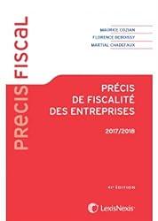 Précis de fiscalité des entreprises 2017 - 2018