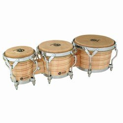 LP Latin Percussion LP814300 Generation III Triple Wood Bongo (Lp Conga-trommeln)