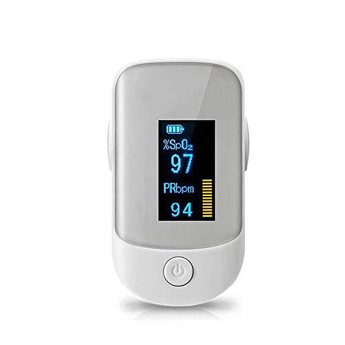 LXYSB Die genaue Überwachung Ausrüstung OLED-Bildschirm Start Tragbare Low-Stromverbrauch der Gesundheit von Wiederaufladbare Körper für Säuglinge und Kinder,Grau