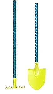 Egmont Toys- Herramientas de Juguete, Color Verde y Azul (E600411)
