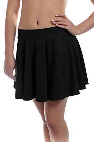 B Dancewear Damen Tanzrock, Gr. M, Schwarz
