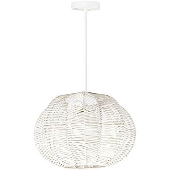 Lampe En Fleur Co Suspension RotinNaturel Forme De Lumamp; 1cJ3lFTK