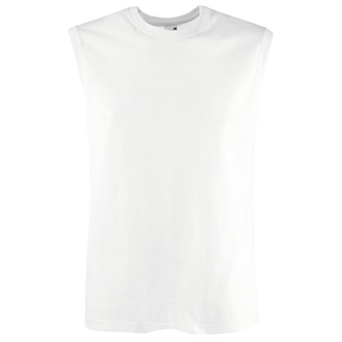 Fruit of the Loom Herren Tank Top Valueweight Athletic Vest 61-098-0 White XL