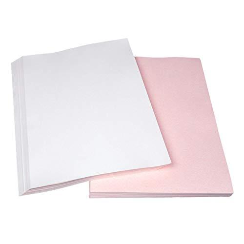 100 fogli A4 tinta sublimazione carta a trasferimento termico t-shirt iron-on trasferimento tessuto per t shirt portatovagliolo porta targa