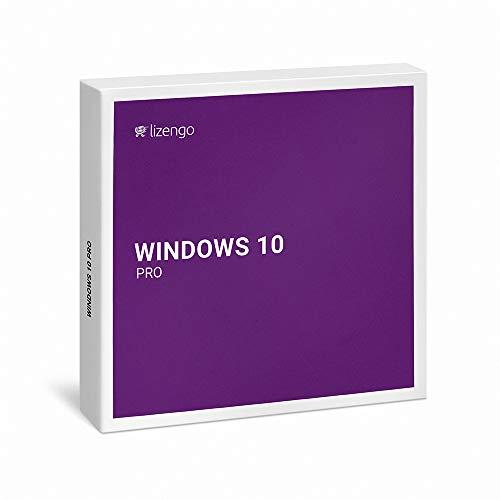 Windows 10 Pro Vollversion 32 bit & 64 bit Neuer und originaler Produktschlüssel   Box Inkl. Anleitung von Lizengo (Pro 32 7 Upgrade Windows Bit)