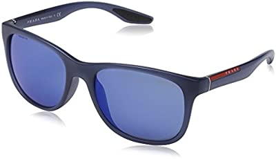Prada Sport 03OS - Gafas de sol unisex, color avio demi shiny