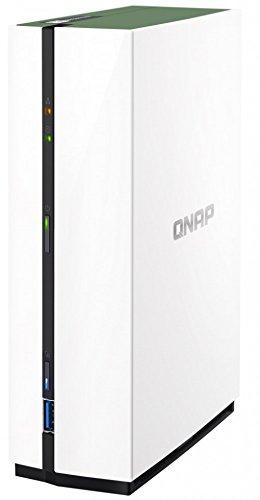 Qnap TS-2-Bay NAS, Arm Quad-Core 1,4GHz, 1GB DDR4RAM, 8,9cm SATA Festplatten, 1x USB 3.0, 2x USB 2.0, 1x GbE LAN (ts-228a-US) 1 Bay