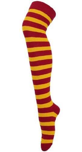 School Kostüm High Boy - School Boy Wizard Fancy Dress Costume Accessories (Glasses, Tie, Scarf, Braces & Wand) (Knee-High Socks) by Robelli