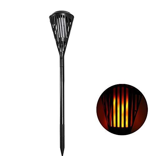 Global ARILUX® Solar 90 LED Flickering Flame Light Wasserdichte Outdoor-Landschaft Dekor für Garten Rasen-Pfad -