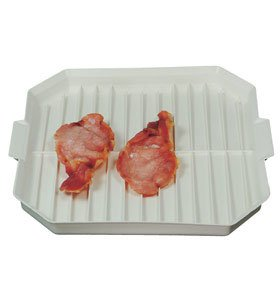 Microwave Bacon Crisper