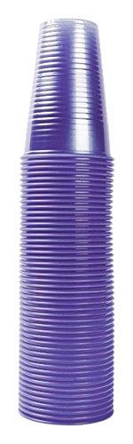 Nupik 2193 Gobelets en plastique de 20 cl, lot de 1000, bleu