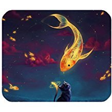 cat-in-the-fish-world-design-mouse-pad-mat-rectangle-mousepad-durable