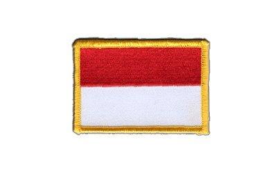 Aufnäher Patch Flagge Indonesien - 8 x 6 cm -