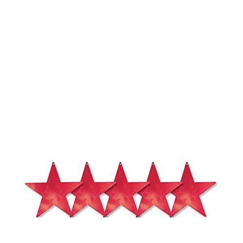 Amscan 37020-0723cm Folie Star Aussparungen