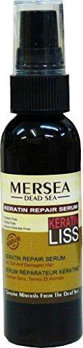 Mersea Keratin Haar Repair Serum | Aufbau der Haarspitzen | Testsieger auf totes-meer-therapie.de | 60 ml | Keratin & Argan und viele weitere Pflegeöle und Vitalstoffe für die Profi-Haarpflege