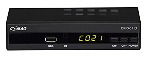 Comag DKR40 digitaler HD Kabel-Receiver (PVR Ready, HDTV, DVB-C, Time Shift-Funktion, HDMI, SCART, USB 2.0) schwarz