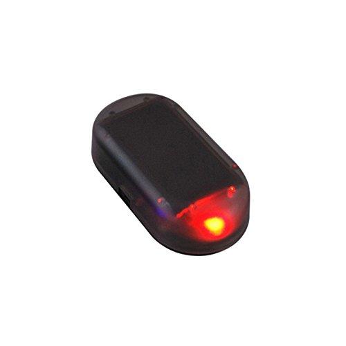 Alftek Warnlicht-Blitz-Signal des Solarenergie-Auto-LED Alarm-Licht für Auto-Sicherheitssystem