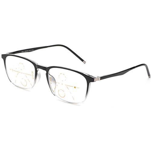 ZYFA Bifokal Lesebrille, Anti blaulicht Computer Brille, Anti-Müdigkeit Lesen Blaulichtfilter,Lesehilfe Sehhilfe Anti blaulicht, Progressive Multi-Power-Mehrfachfokussierung