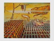 Salvador Dali - The Desintegration of the Persistence of Memory - 80.0 x 60.0cm - Premiumqualität - , Surrealismus, Klassische Moderne, Fantasie, Wohnzimmer, Treppenhaus - MADE IN GERMANY - ART-GALERIE-SHOPde ()