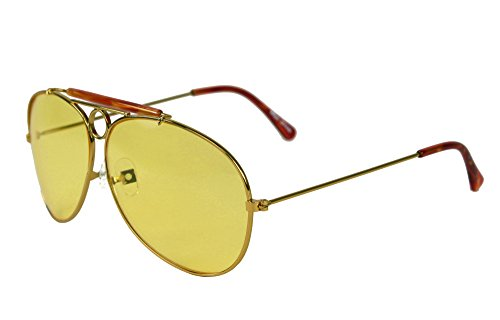 Fear and Loathing in Las Vegas Hunter S. Thompson Aviator Sonnenbrille, Gelb
