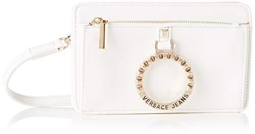 Versace Jeans Couture Damen Bag Umhängetasche, Weiß (Bianco Ottico), 3,5x12,5x20 centimeters