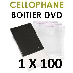 Cellophanes pour vos boitiers DVD standard - 100 feuilles