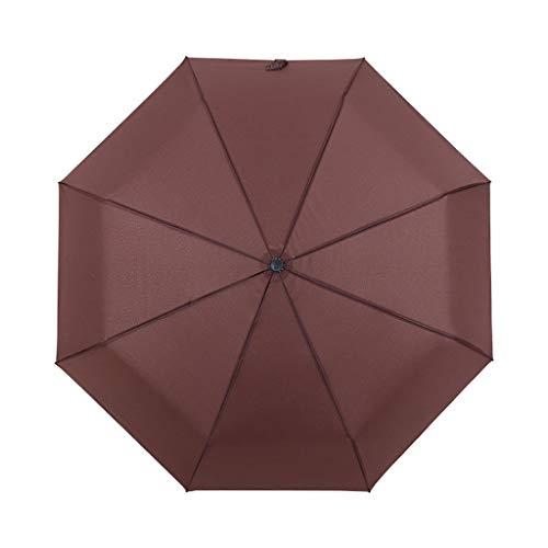 Regenschirm Aus Fiberglas Windsicher, Wasserabweisende, Klein, Leicht & Kompakt - Stabiler Mit Automatischer Automatik