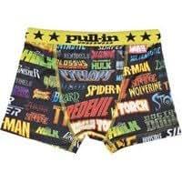 Boxer Enfant PULL-IN Youngblood Logo Marvel 2011 8-10