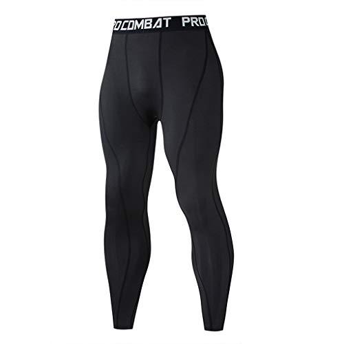 CAOQAO Pantaloncini da Uomo Pantaloncini Jeans/Moda Uomo Estate Tinta Unita Prdcombat Fitness Sport Respirabili Sottili Pantaloni Sottili/Nero/S-3XL