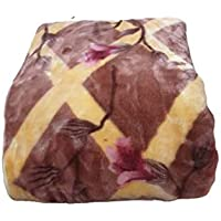 Signature Mink Blanket for Strong Winters,, Single-Bed, 200 TC || Multi-Colored