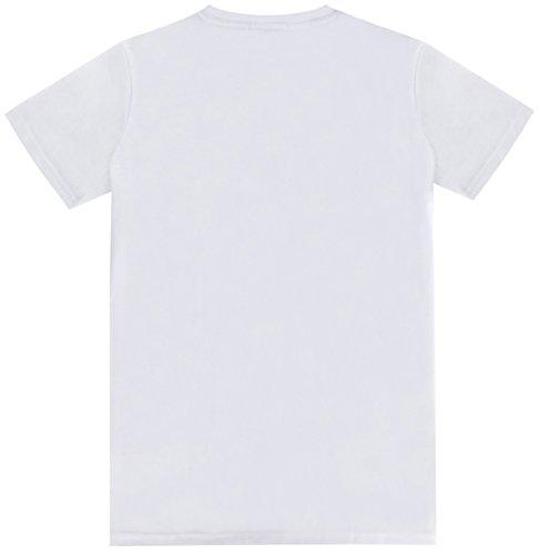 Funny World Herren Seemann Marine Kostüm T-Shirts sailor