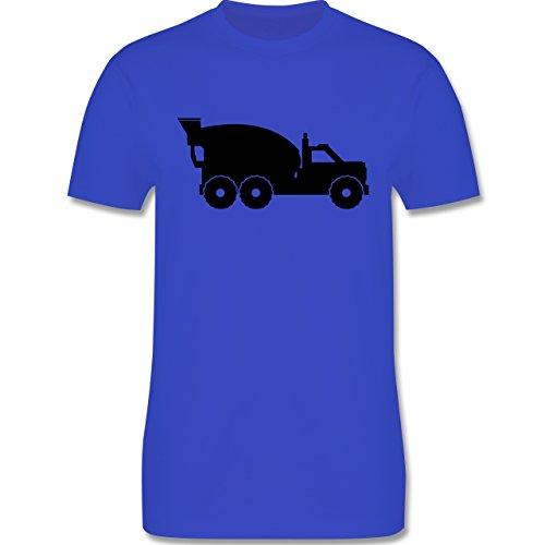 Andere Fahrzeuge - Betonmischer - Herren Premium T-Shirt Royalblau