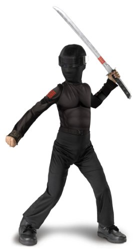 Boys G.i. Joe Snake Eyes Costume (Snake Eyes Kostüm Zubehör)