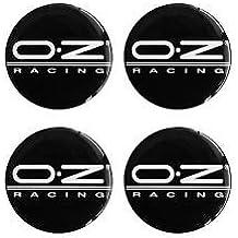 Oz Racing 4 unidades) 55 mm Pegatinas Emblema para llantas Buje Tapa Tapacubos