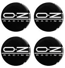 Lot de 4oz Racing ★ ★ 55mm pour jantes Moyeu Couvercle Enjoliveurs autocollants avec emblème
