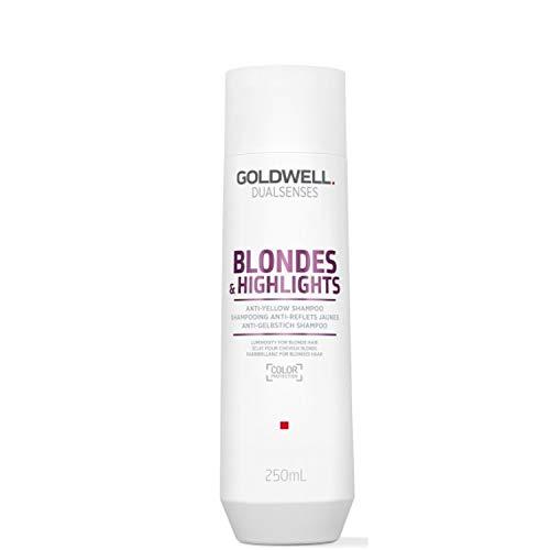 Goldwell Dualsenses Blondes & Highlights Anti Yellow Shampoo, 1er Pack (1 x 250 ml)
