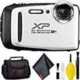 FUJIFILM FinePix XP130 Digital Camera (White) Standard Bundle