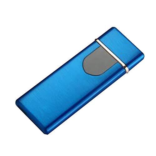 Amara USB Recargable Cigarrillos Encendedor,Toque de Huella Digital