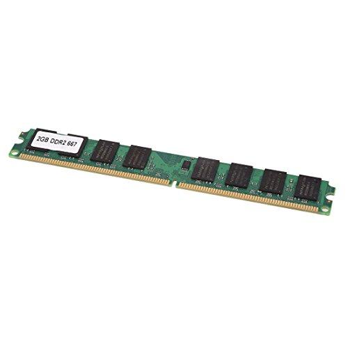 SODIAL(R) 2GB 2G RAM Speicher DDR2 PC2-5300/U 667MHZ DIMM Memory 240pin PC Arbeitsspeicher