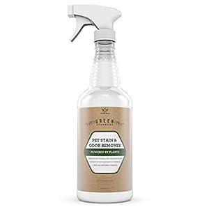Geruchsneutralisierer - Natürlicher Flecken- und Geruchsentferner - Enzym Reinigungsspray - Entfernt Haustier Flecken Und Gerüche Von Hunden Und Katzen - Geeignet Für Alle Oberflächen - 946 ML