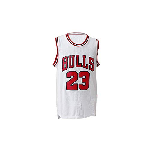 Herren NBA Michael Jordan # 23 Chicago Bulls Basketball Trikot Retro Gym Weste Sport Top